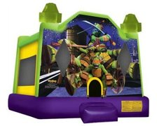 Ninja Turtles Bounce House Dry / Only 4 Hours